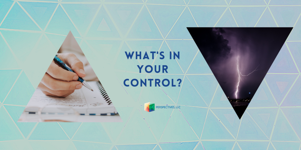 But what can you control?