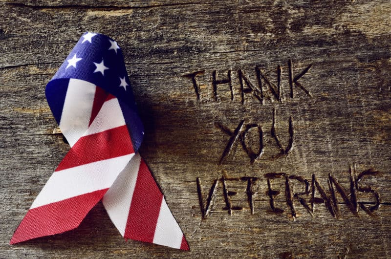 Veterans, thank you! #NEVERFORGET