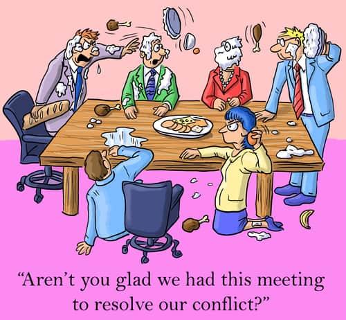 FOUR TIPS FOR DE-ESCALATING CONFLICT